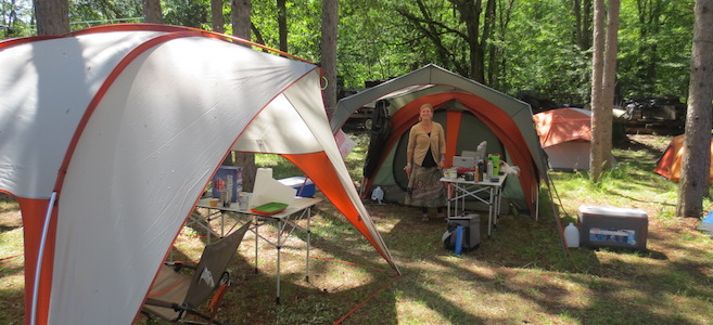 Music Festival Camp