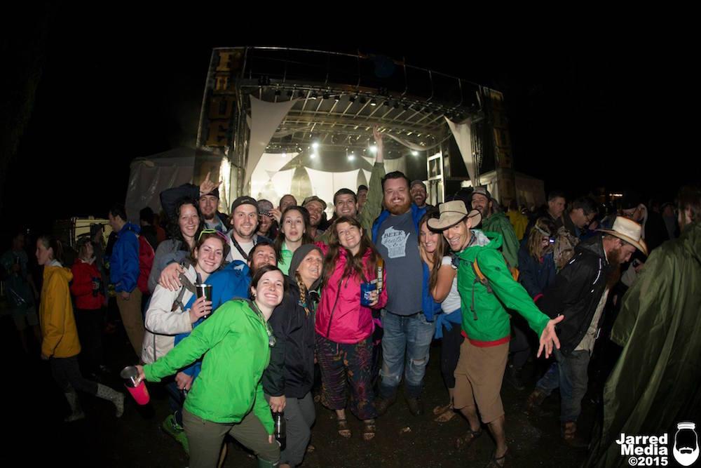 surviving a rainy festival
