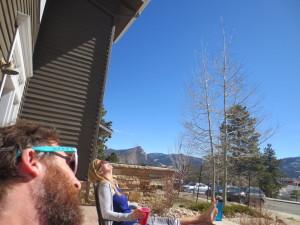 Basking in the Colorado Sun