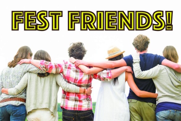 Music Festival Partners and Friends