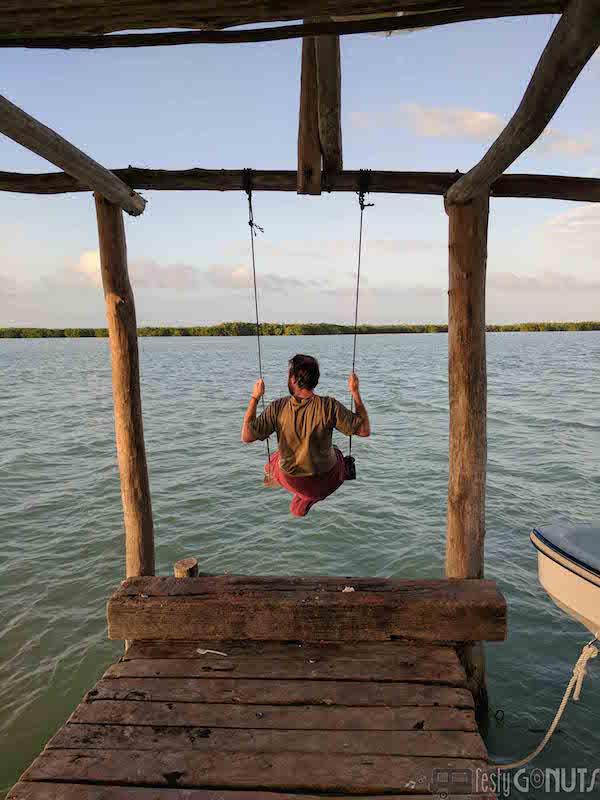 Swingin in Rio Lagartos