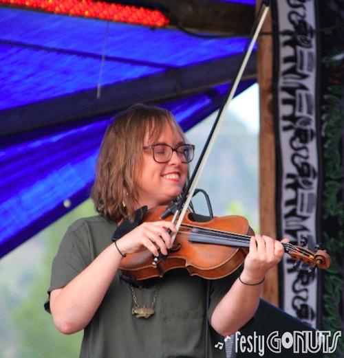 Lyndsay Pruett of Jon Stickley Trio