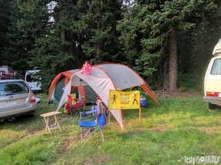 Grand Targhee Bluegrass Festival Campground