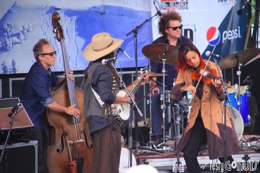 Rhiannon Giddens at Grand Targhee Bluegrass Festival 2017