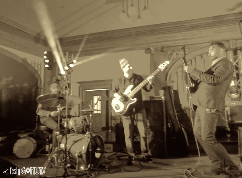 Eddie Roberts of New Mastersounds at Leftover Salmon Stanley Hotel 2018