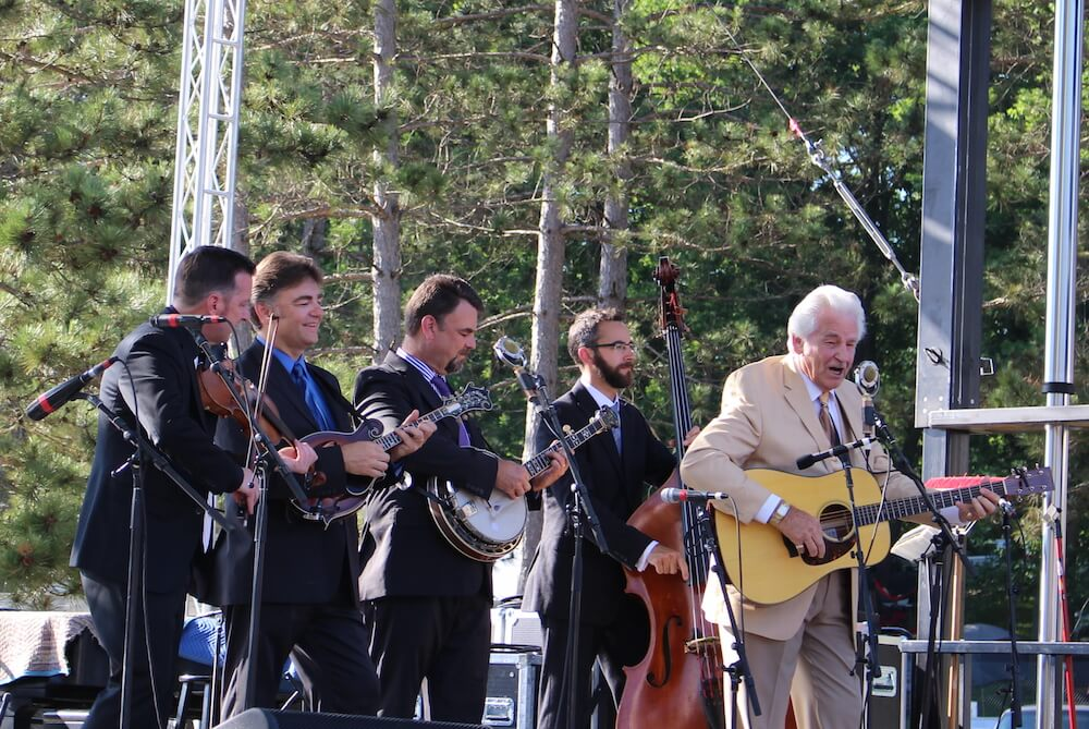 Del McCoury Band at Blue Ox Music Festival