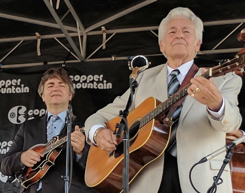 Ronnie McCoury and Del McCoury