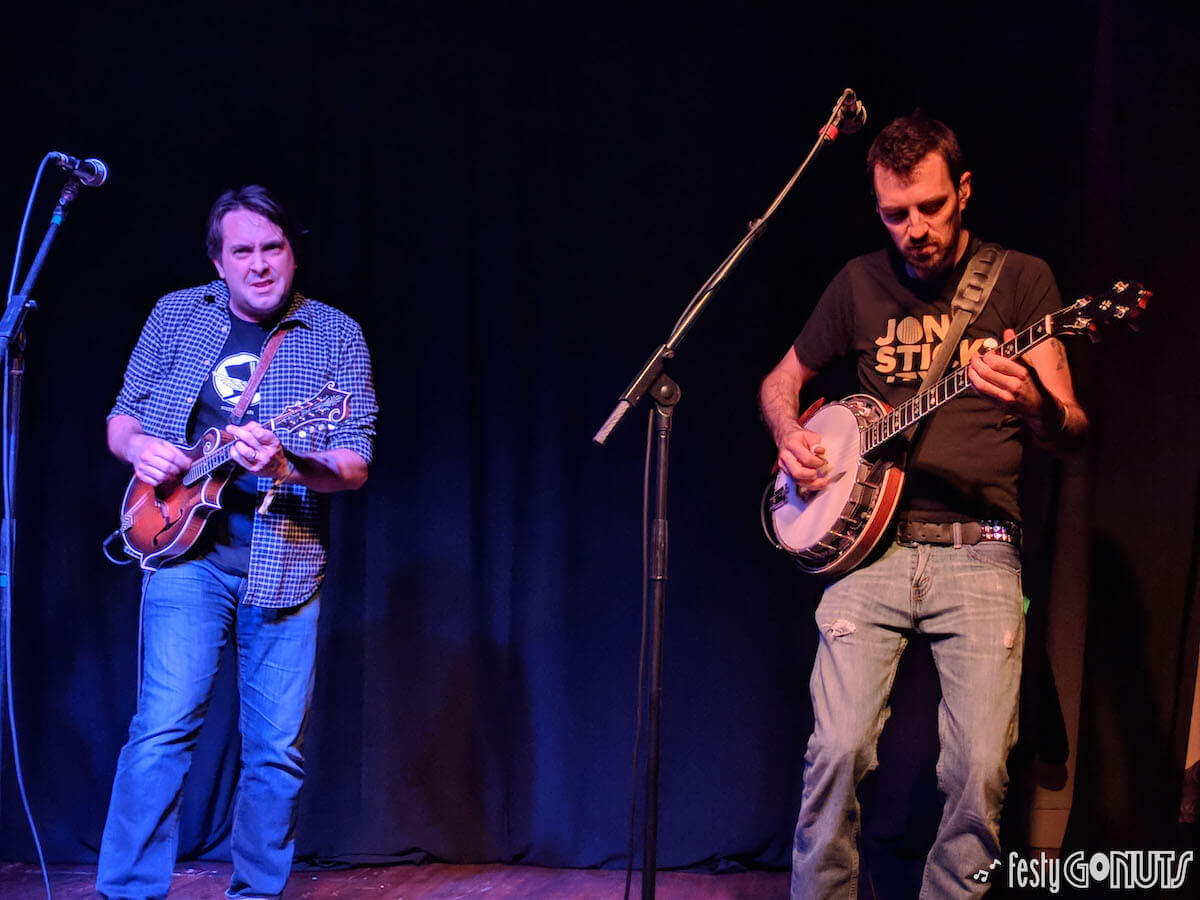 Jeff Austin and Kyle Tuttle at Stan Jam