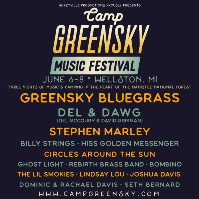 Camp Greensky Announces 2019 Lineup
