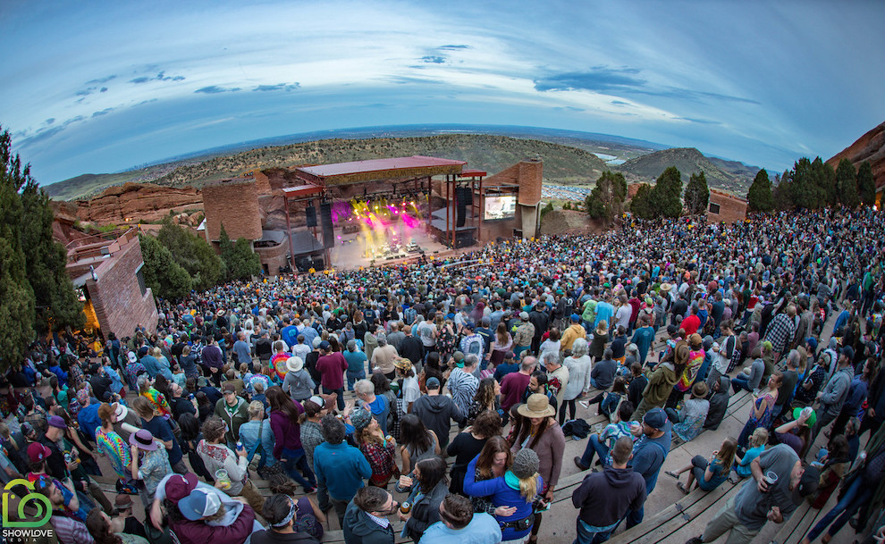 Leftover Salmon at Red Rocks / Image by Show Love Media