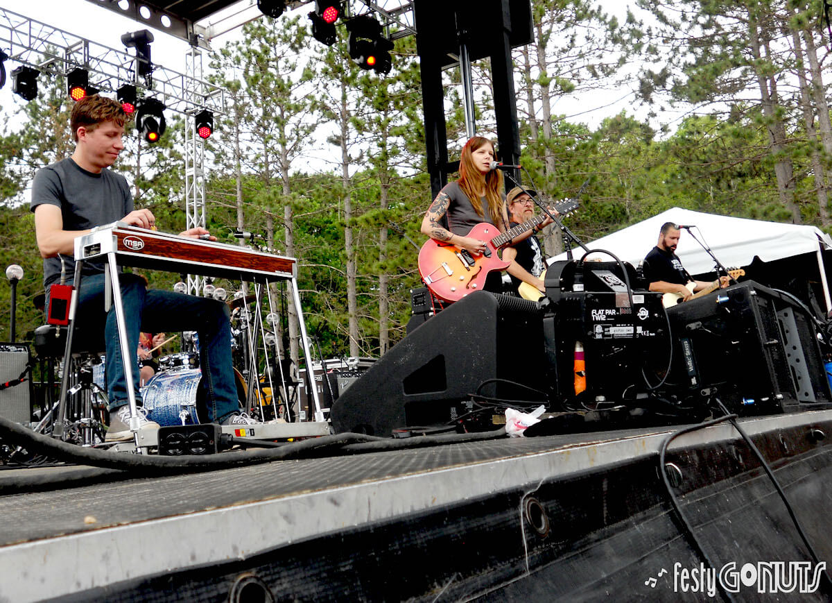 Sarah Shook and the Disarmers at Blue Ox Music Festival 2019