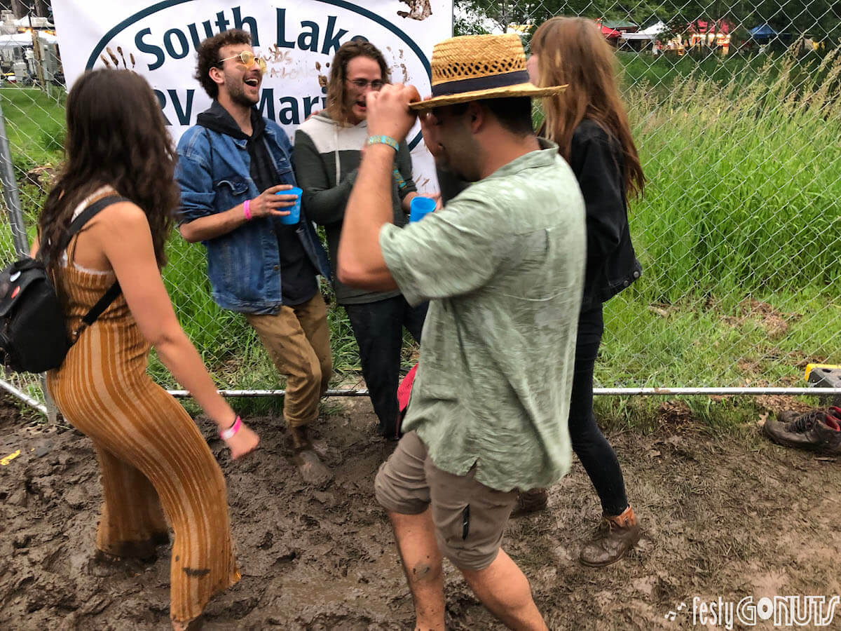 mud dancing at Blue Ox Music Festival 2019