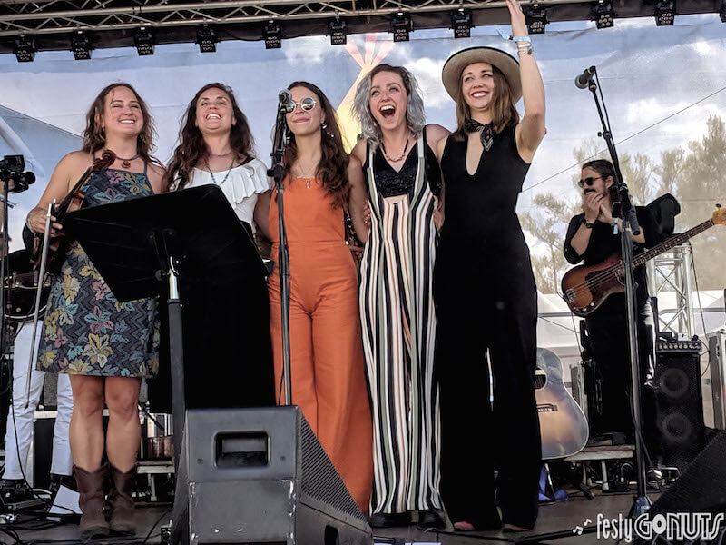 WinterWonderWomen at Campout for the Cause 2019