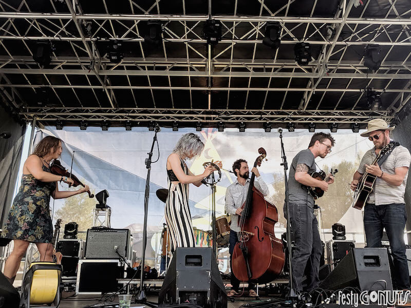 Pixie and the Partygrass Boys at Campout for the Cause 2019