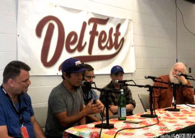 Artist interviews at Delfest 2019