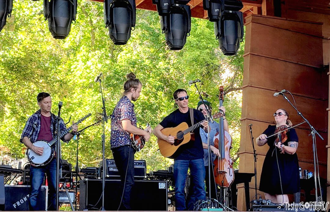Dave Johnston   Yonder Mountain String Band   Colorado Kind Festival