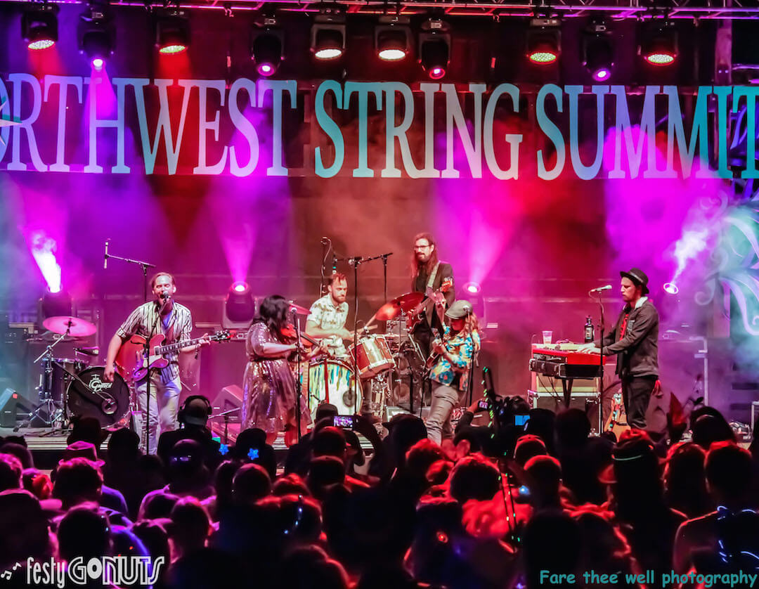 Northwest String Summit 2019 Kellen Asebroek of Fruition