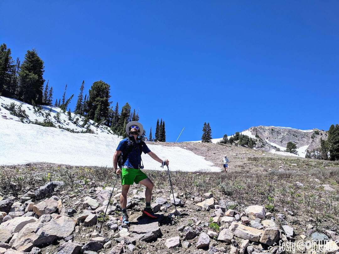 Outbound Pursuit 2019 Snowbasin - hiking