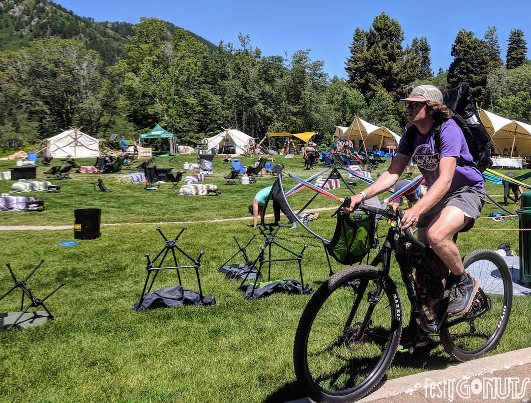 Outbound Pursuit 2019 Snowbasin mountain bike