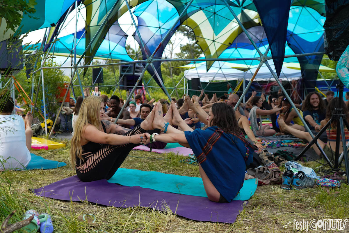 Yoga D'om at Sonic Bloom