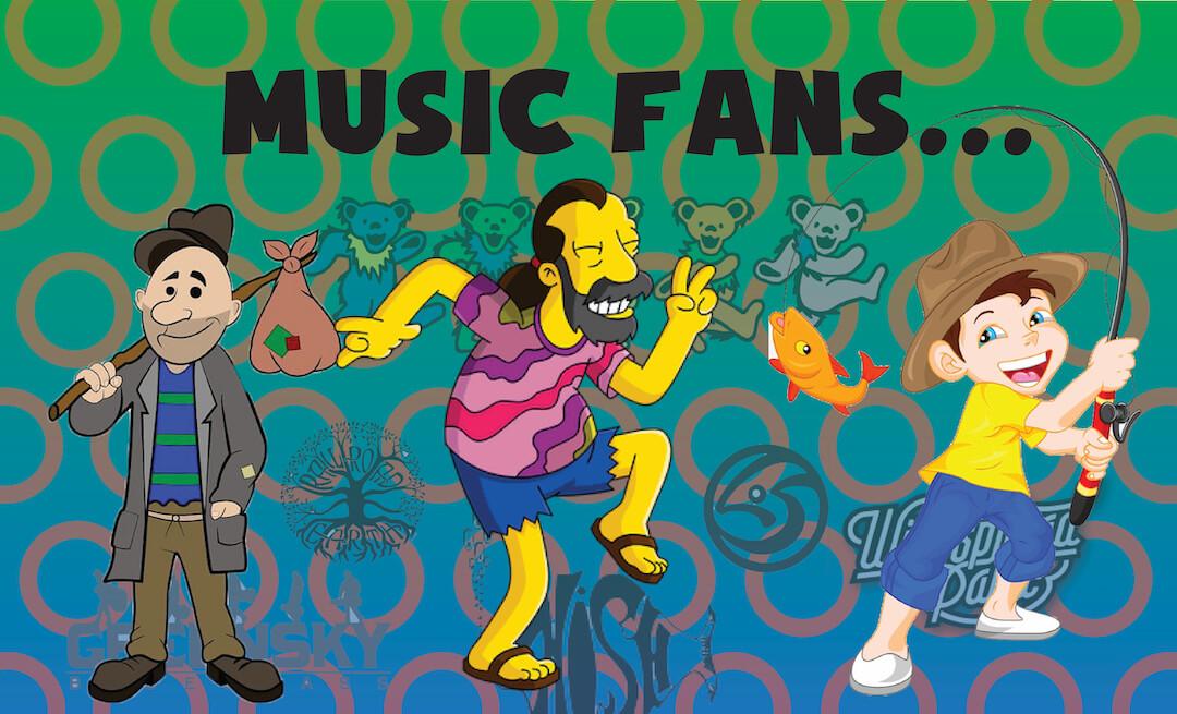 Live Music Fans
