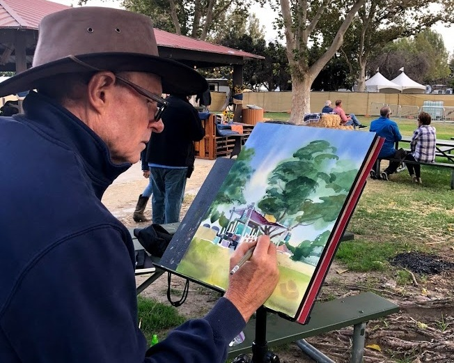 Live Painting - Huck Finn Jubilee
