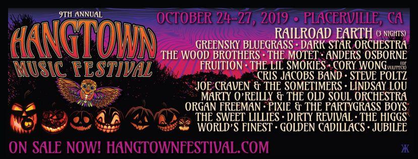 hangtown festival halloween music festivals 2019