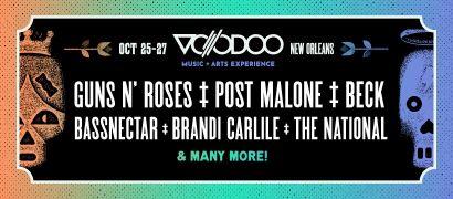 voodoo halloween music festivals 2017