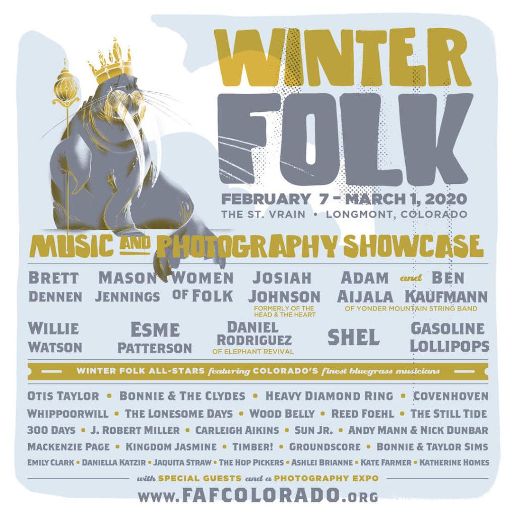 Winter Folk 2020 lineup