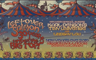 Leftover Salmon Celebrates 30 Years with New Year's Party and Vinyl Box Set