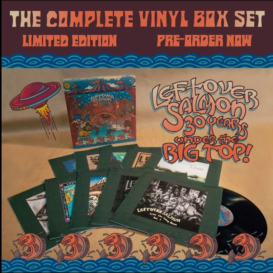 "Leftover Salmon ""30 Years Under the Big Top"" box set"