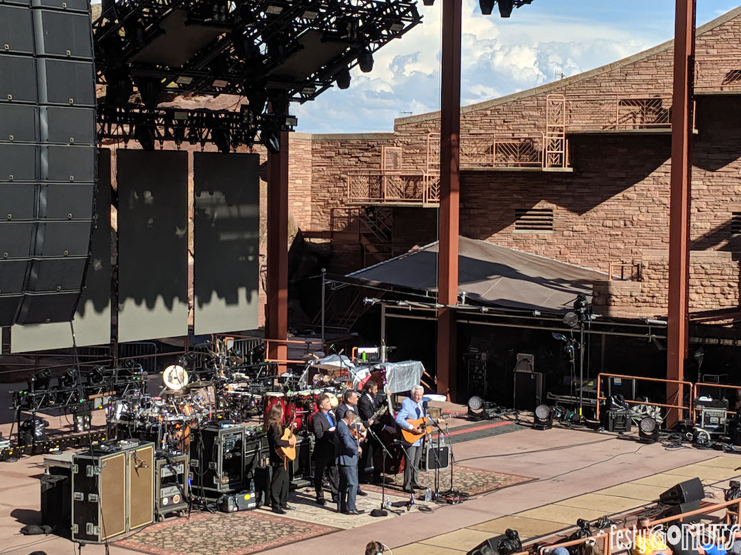 Del McCoury Band - Red Rocks 2019