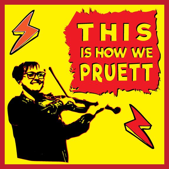 This Is How We Pruett -sticker