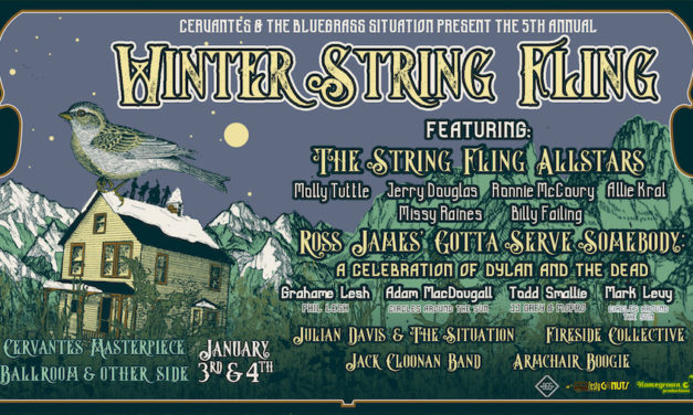 The 5th Winter String Fling Brought Bluegrass Legends, New and Old, to Cervantes