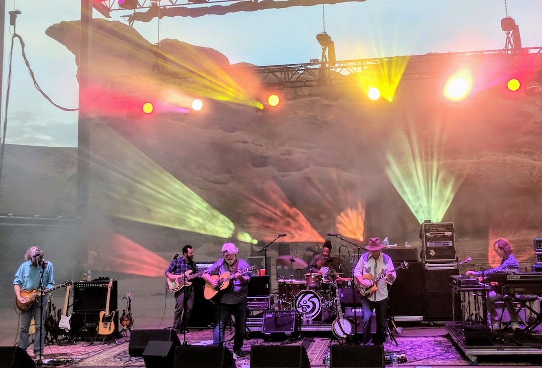 Leftover Salmon at Red Rocks Amphitheatre