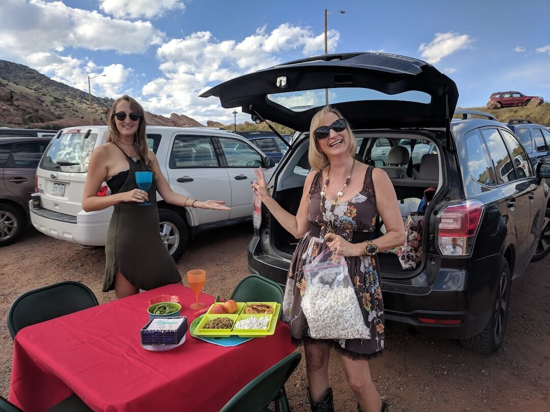 Red Rocks Amphitheatre tailgating
