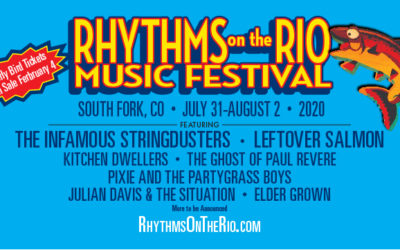 Rhythms on the Rio Announces 2020 Lineup!