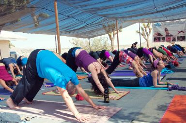 Shakti Immersion 2020 Yoga Group Pose