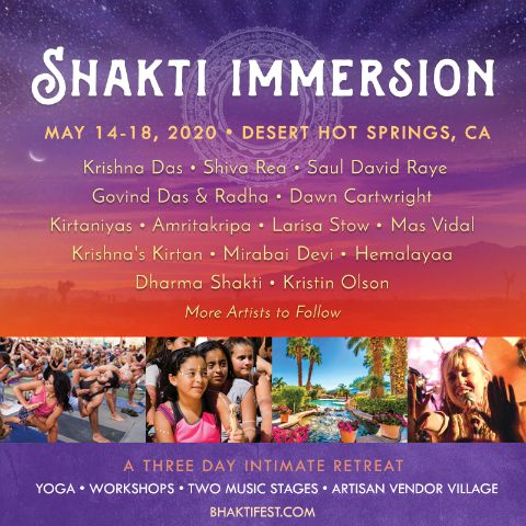 Shakti Immersion 2020 Festival Announcement