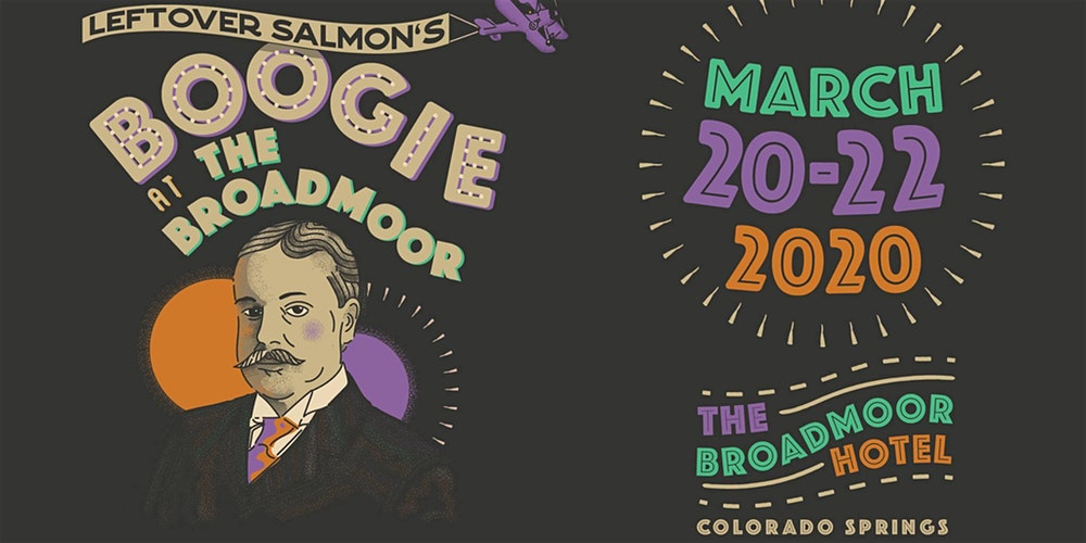 Boogie at the Broadmoor 2020 poster