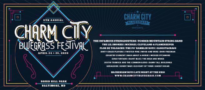 charm city 2020 lineup header