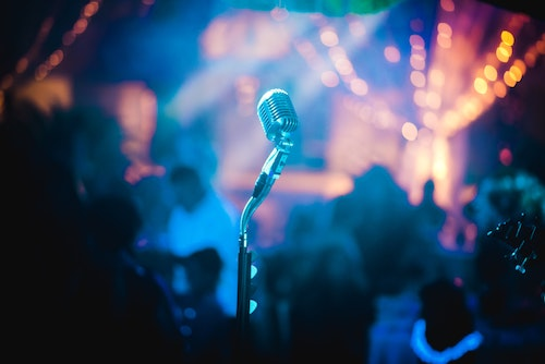 Music Festival microphone   Cancellations due to Covid-19