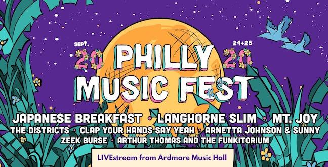 PHilly Music Fest Header 2020