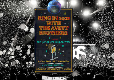 Avett Brothers New Year's Eve 2020 Live Stream