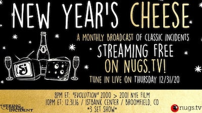 String Cheese Incident New Year's Eve Live Stream